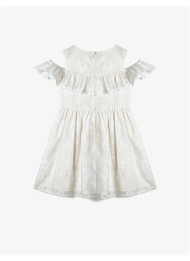 Koton Kids Elbise Beyaz
